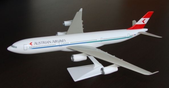 Airbus A340 Austrian Airlines livery