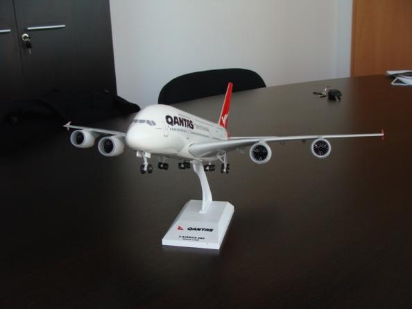 Airbus A380 Qantas livery