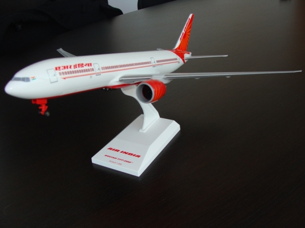 Boeing 777 Air India Livery